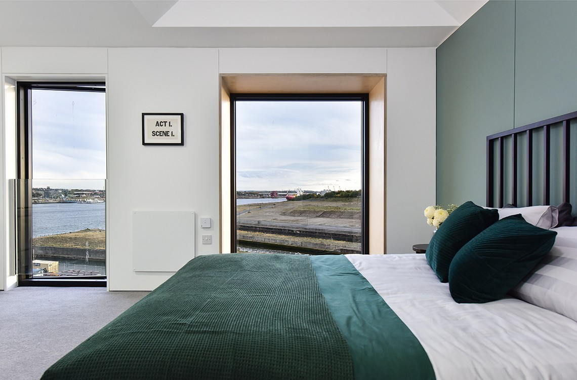 Plot 6 Townhouse, Loft Living, Sleeping +,  Smith's Dock, North Shields