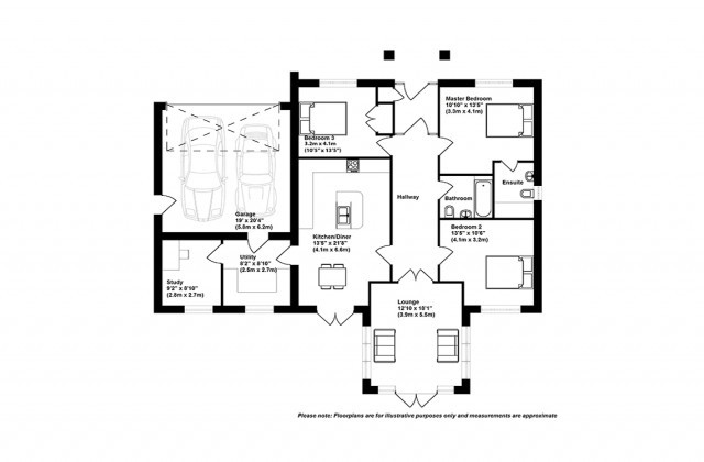 3 bedrooms for sale in The Sickle (Plot 12), Furrow Grove, Station
