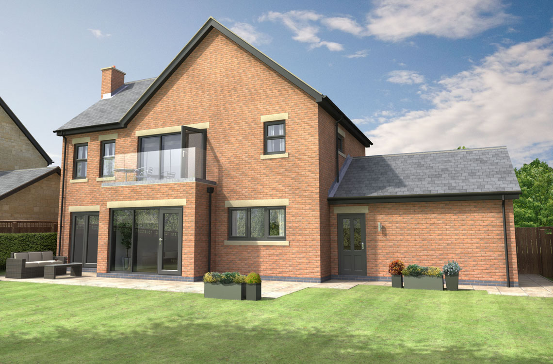 "Plot 4, ""The Birling"", Watershaugh Gate, Warkworth"