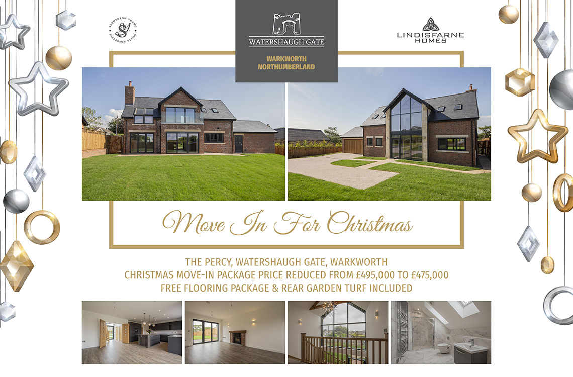 The Percy, Watershaugh Gate, Warkworth – Move in for Christmas