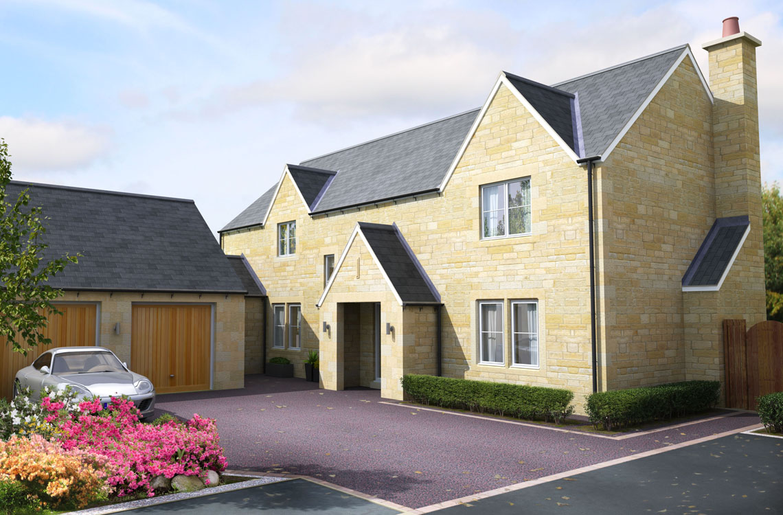 "Plot 8, ""The Foxton"", Foxton Glade, Lesbury – Show Home coming soon"