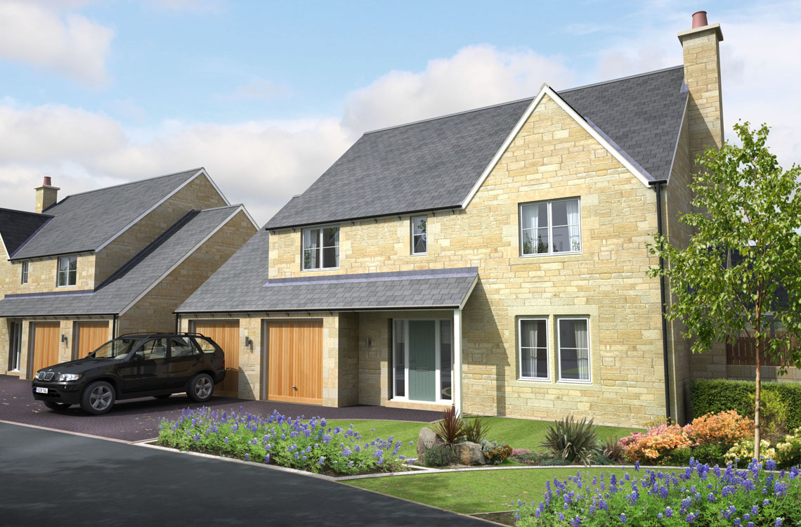 "Plot 10, ""The Boulmer"", Foxton Glade, Lesbury – Show Home coming soon"