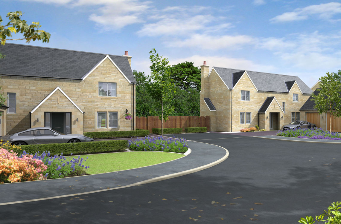 "Plot 8, ""The Foxton"", Foxton Glade, Lesbury – View Home available to view by appointment with the Alnwick Office"