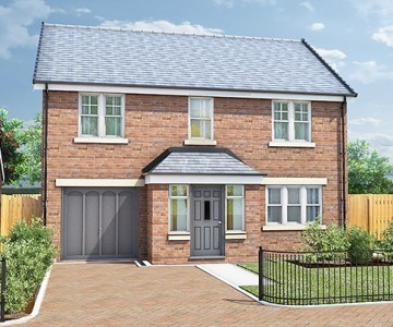 Plot 1, The Ascot, The Stables, Stannington, Morpeth