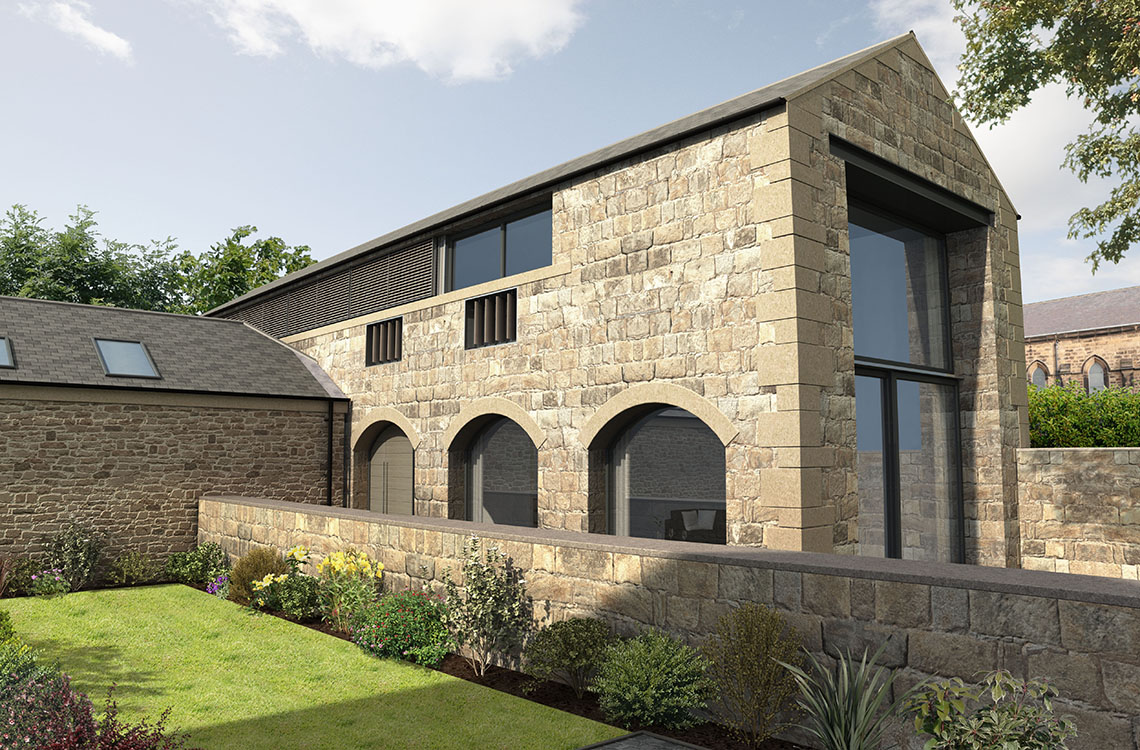High Barn (Plot 5), West Farm Steading, Earsdon, Whitley Bay