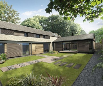The Courtyard (Plot 6), West Farm Steading, Earsdon, Whitley Bay