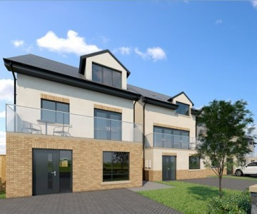 Townhouse (Plot 1) at Roseate View, Links Road, Amble