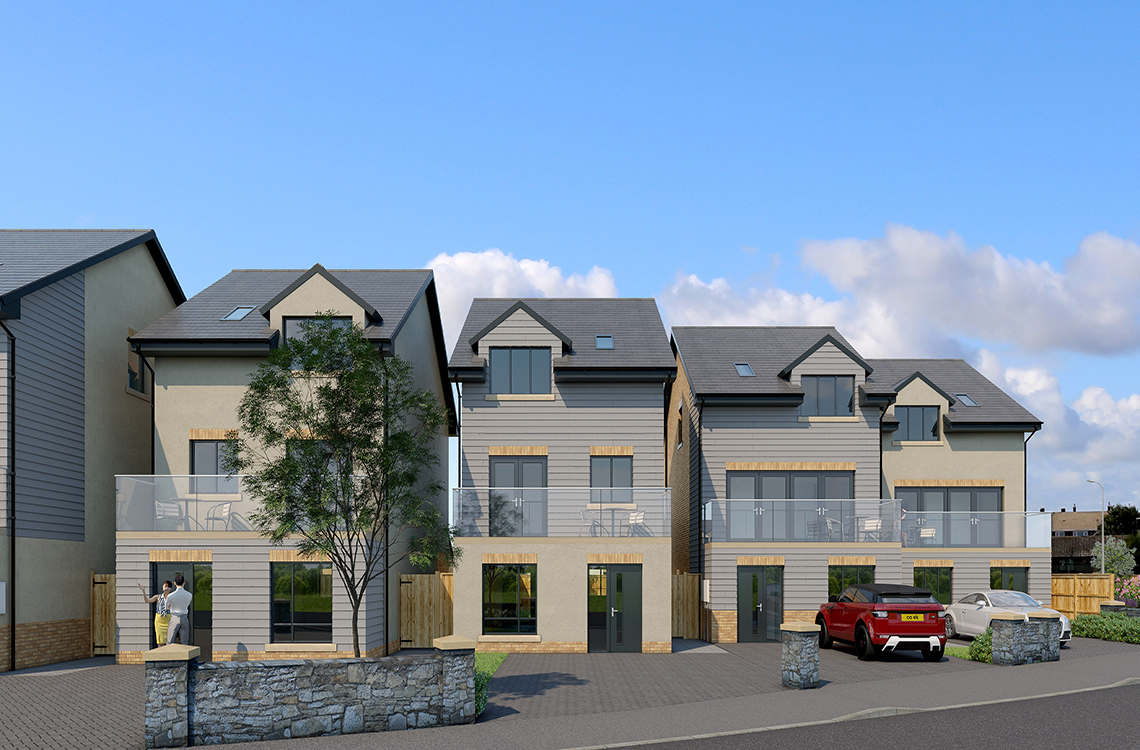 Townhouses at Roseate View, Links Road, Amble – View Home Opening Soon