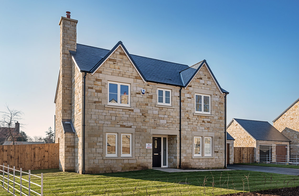 Plot 4, The Aln, Foxton Glade, Lesbury