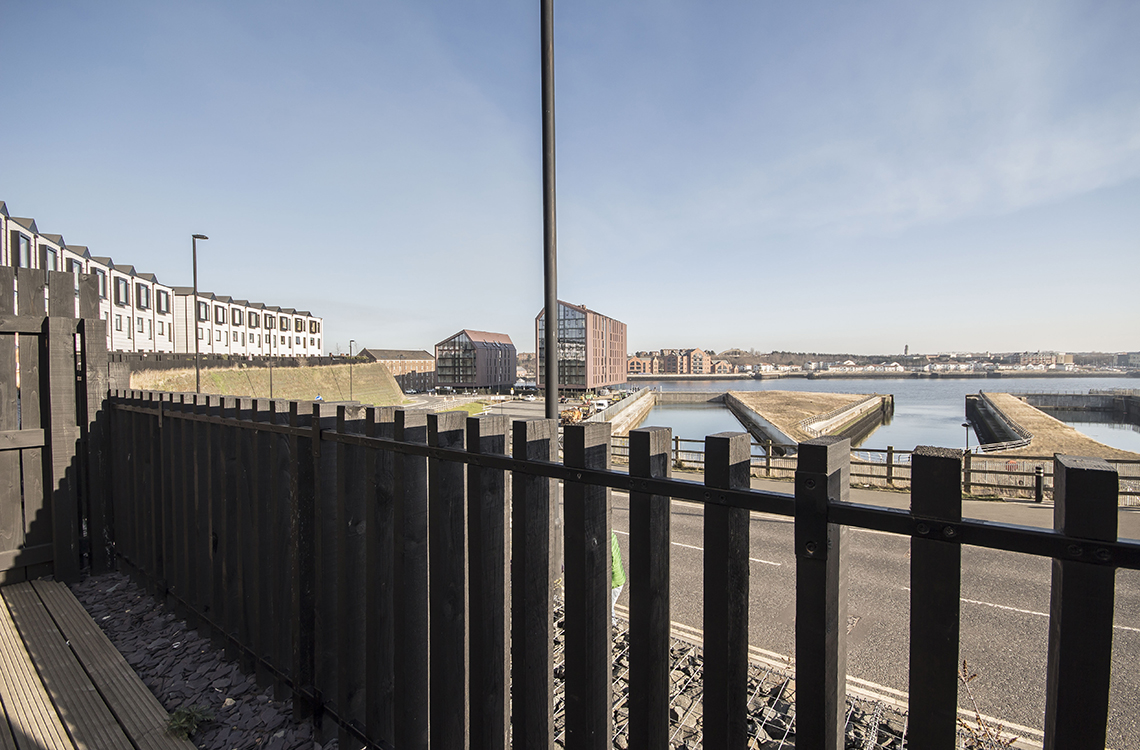 The Plateau, Smiths Dock, North Shields