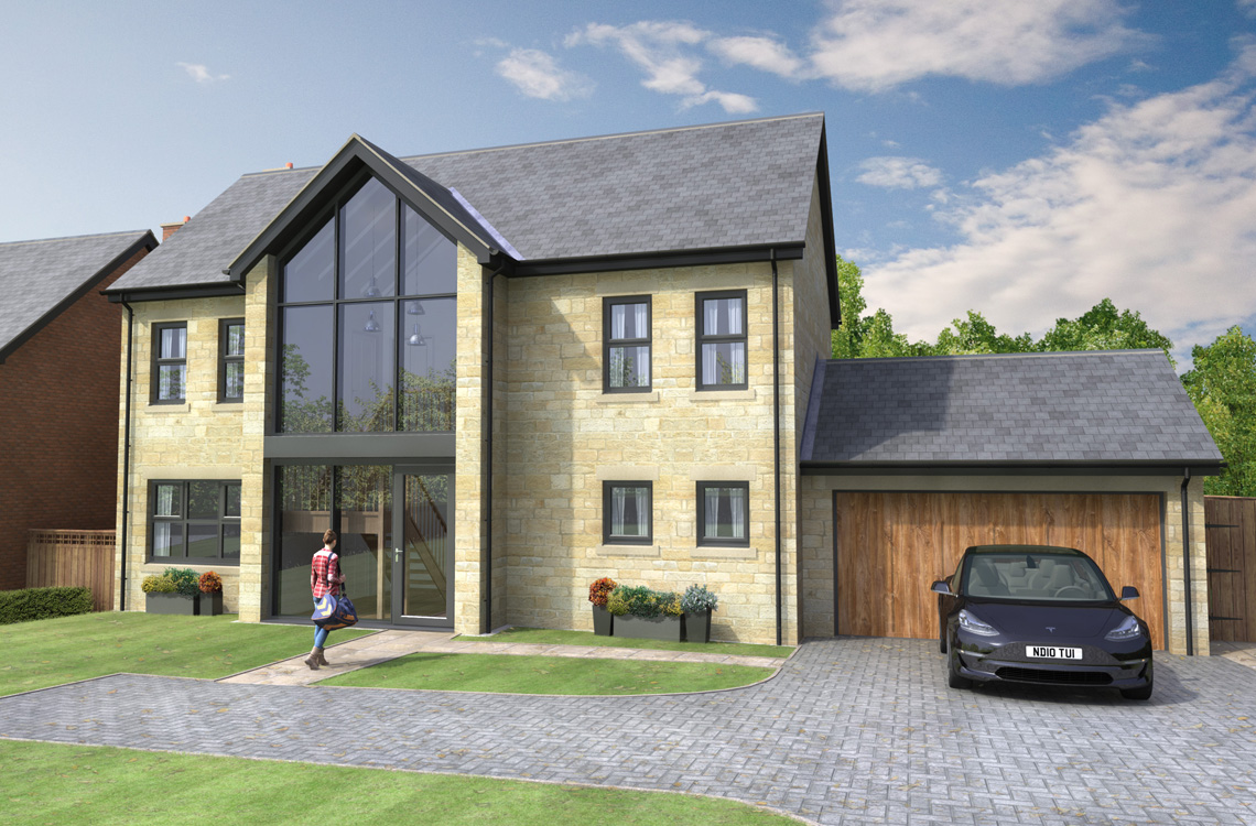 Plot 5, The Hermitage, Watershaugh Gate, Warkworth