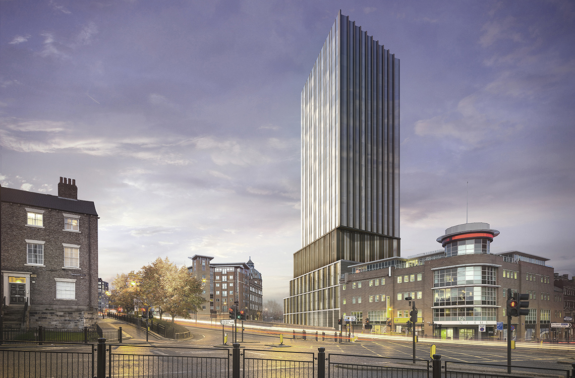 Apartment 152 (23rd Floor), Hadrian's Tower, City Centre, Newcastle upon Tyne