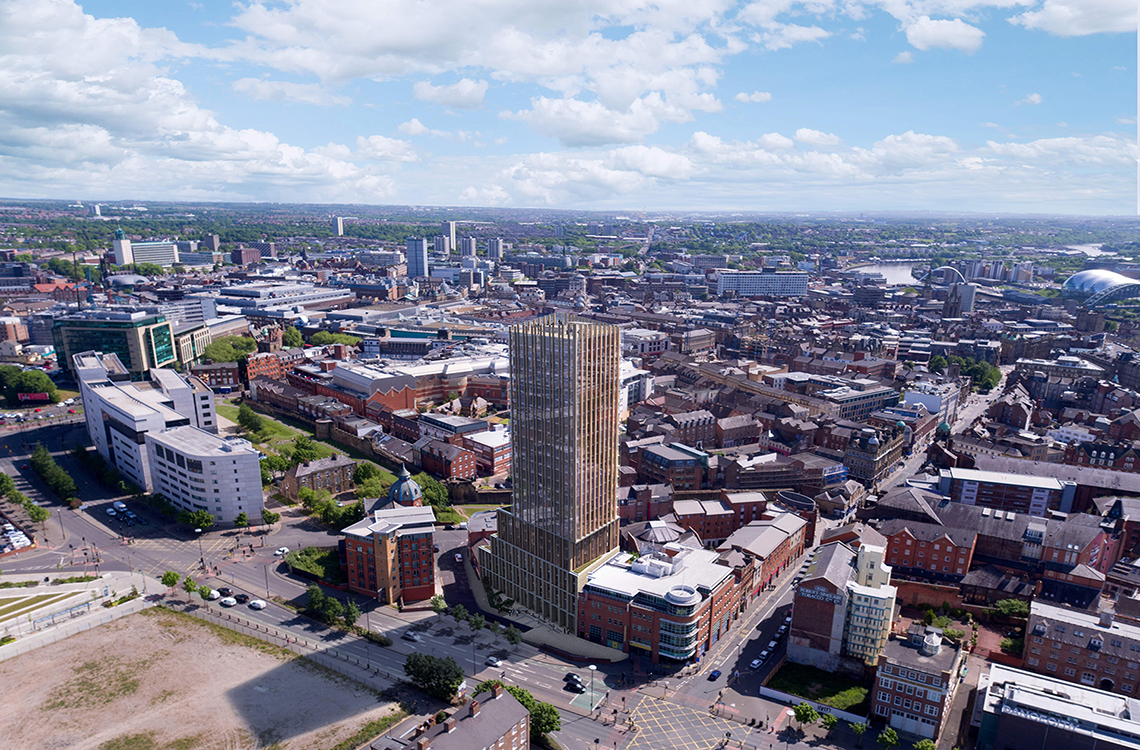 Hadrian's Tower, City Centre, Newcastle Upon Tyne – Now available to view!