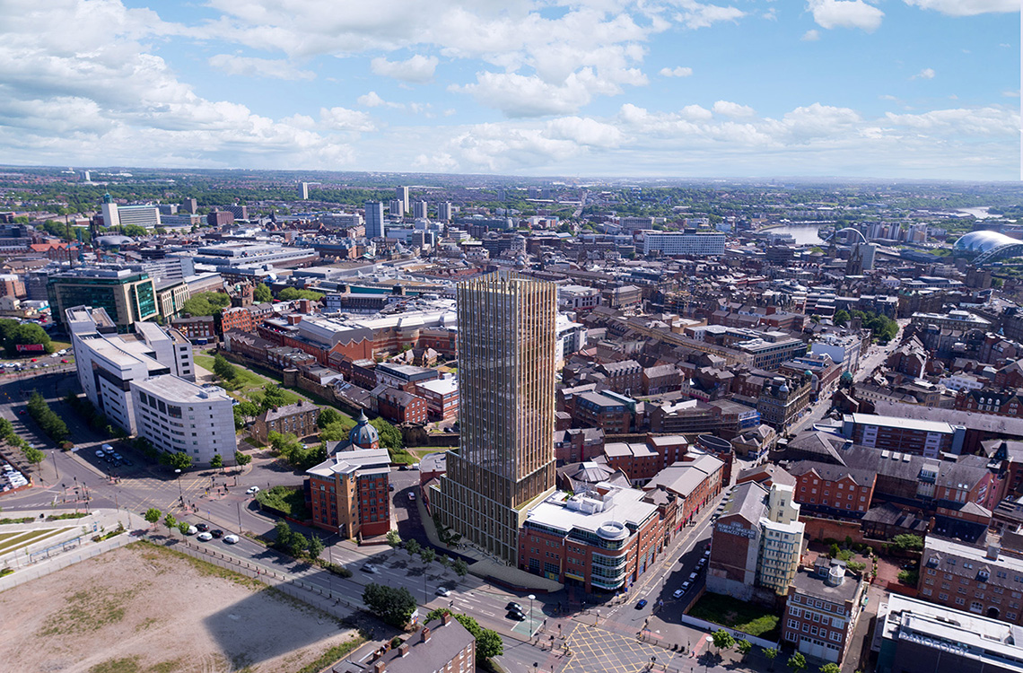 104 Hadrian's Tower, 15th Floor, Rutherford Street, Newcastle
