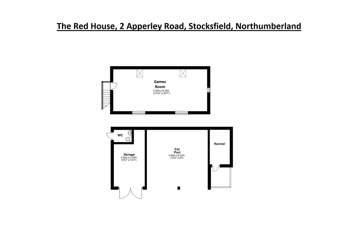 "The Red House, Apperley Road, Stocksfield – "" UNEXPECTEDLY BACK ON TO THE MARKET """