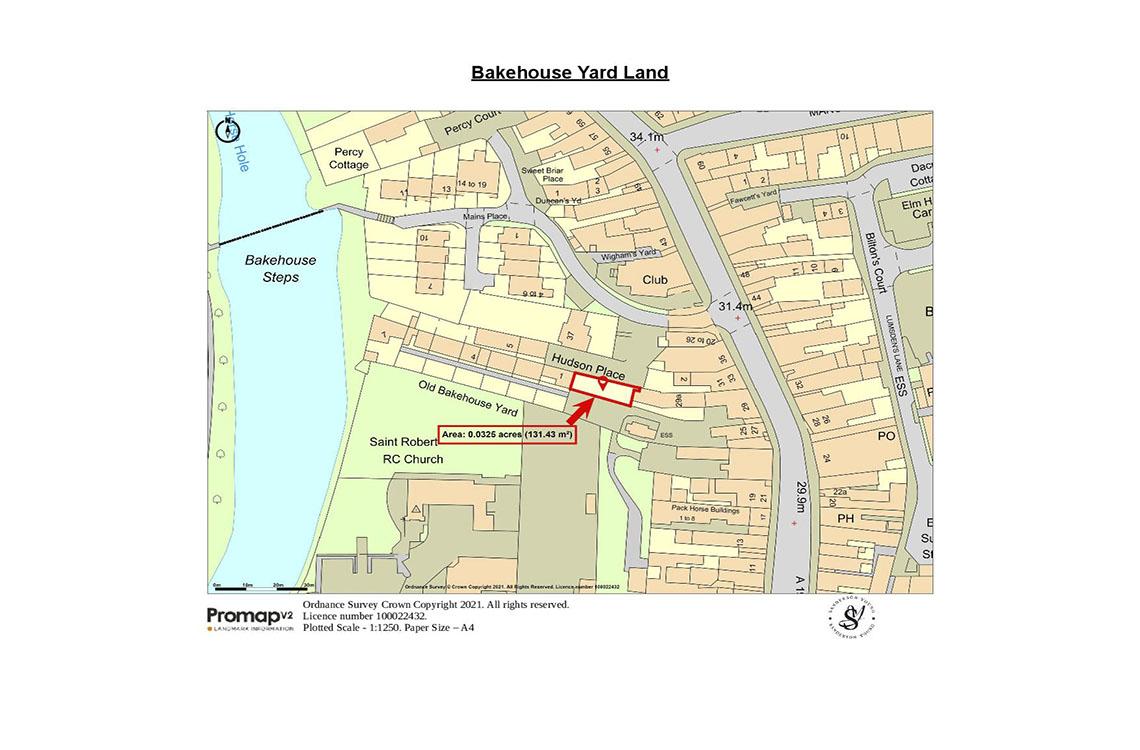 Bakehouse Yard Land, Bakehouse Yard, Morpeth