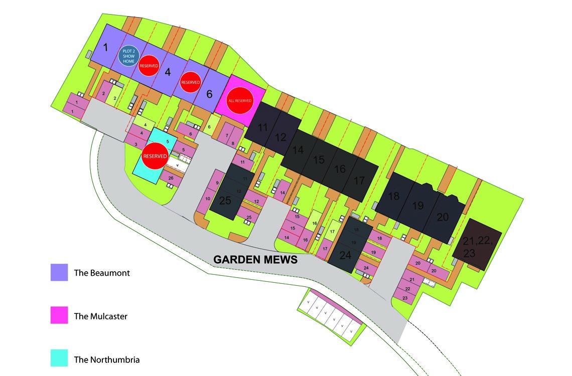 Plot 8, The Mulcaster, Garden Mews, Blaydon on Tyne