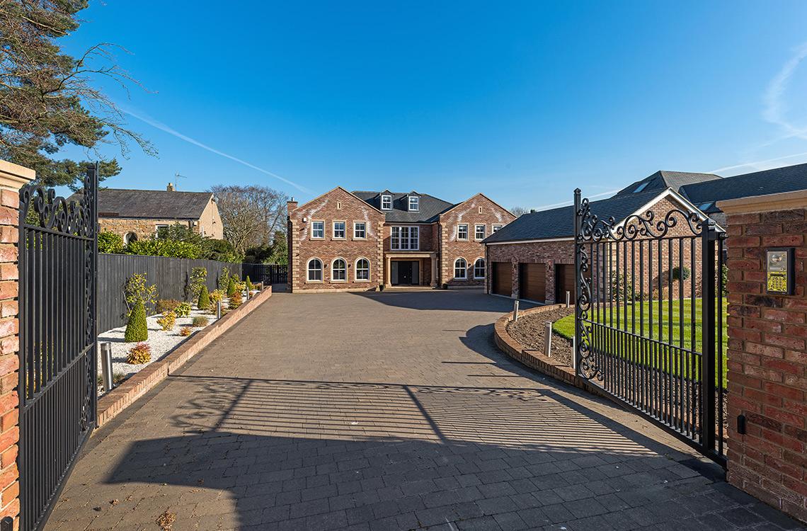 Darras Road, Darras Hall, Ponteland
