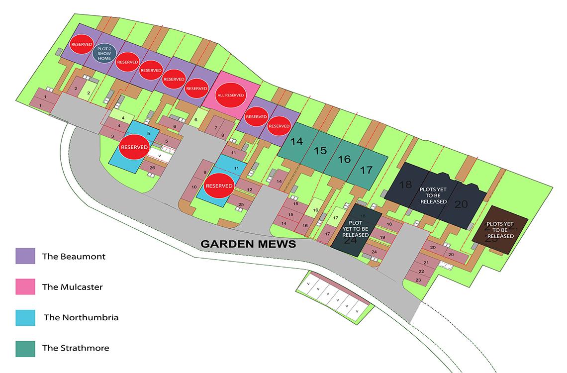 Plot 11, The Beaumont, Garden Mews, Blaydon on Tyne